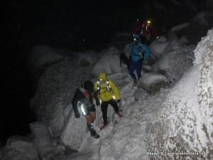 trail running sobre nieve rutas guadarrama