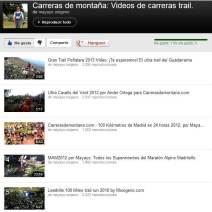 Carreras de montaña videos por Mayayo