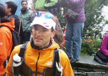 corredores de montaña zigor iturrieta en utmb 2012