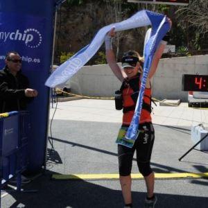 Teresa Nimes, campeona del Maratón Montaña Finestrat 2013 MAMUFI