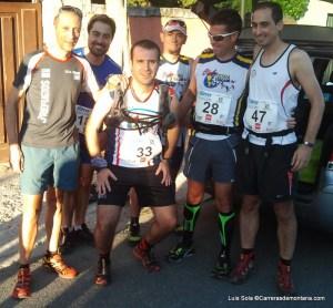 Maratón Alpino Madrileño 2013: Buen ambiente entre los populares antes de la salida.