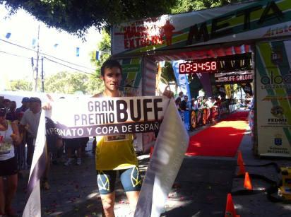 adidas trail luis alberto hernando campeon haria extreme 2013 foto Organizacion