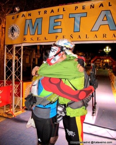 Gran trail Peñalara 2013: Una meta compartida.