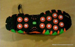 Zapatillas trail Adidas Adistar raven foto suela