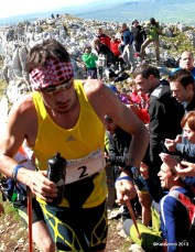 Adidas trail running, Luis Alberto Hernando en zegama aizkorri skyrunning 2013 photos by kataverno (3)