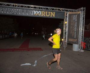 Ashley Arnold campeóna  Leadville 100 Miles 2013 Foto Leadville Race series