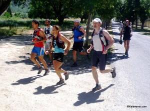 ultra trail nerea martinez urruzola record gtp150k  Entrada en la Granja tras 85km Foto Kataverno