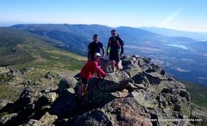 Entrenamiento carreras montaña: Salida previa por el canchal, con Mayayo,  Treparriscos. Abel y Baldo