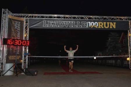 Ian Sharman campeón de Leadville 100 Miles 2013 Foto Leadville Race series