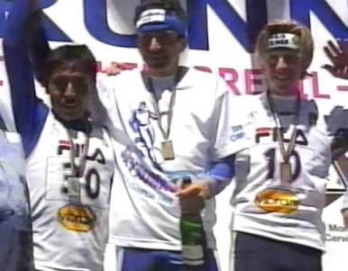 Skyrunning 1998: Podio Mundial Cervinia
