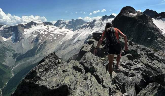 Ultra Trail America: Fernando Gonzalez corriendo en Canada