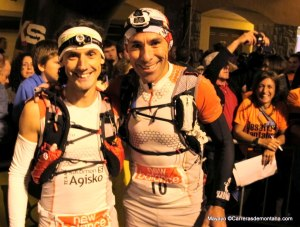 Alfonso Rodríguez y Pedro Bianco en la salida del Desafío Cantabria. Foto: Mayayo.