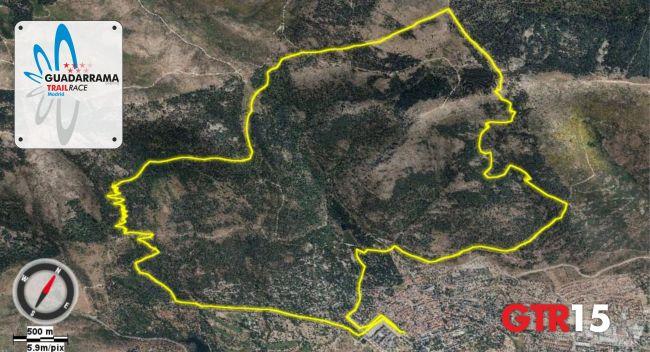 Guadarrama Trail Race GTR17 Mapa 2oct13