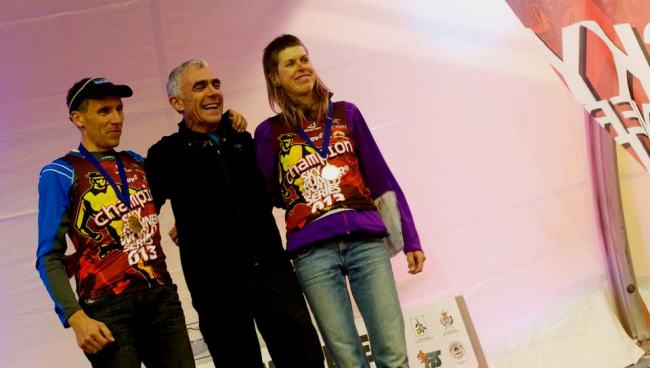 kilometro vertical skyrunning 2013 laura orgue y urban zemmer campeones del mundo. Foto: Limone Skyrunning Xtreme Press Office