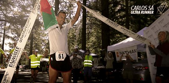 Carlos Sá: Debutante y campeón en la mítica Badwater 217km en 2013.