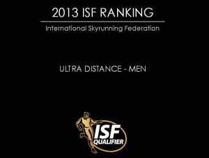 Skyrunning 2013 Ultra Ranking final top100 Men