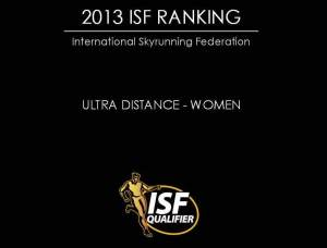 Skyrunning 2013 Ultra Ranking final top100 Women