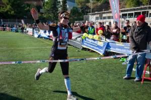 ultra trail collserola 43k Emma Roca. Foto: Quim Farrero.