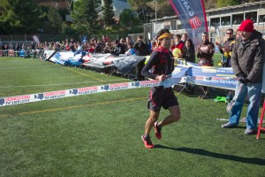 ultra trail collserola 74k campeon Toti Bes. Foto: Quim Farrero.