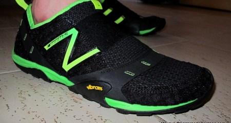 zapatillas new balance minimalistas MT10 slip-on. Impecables en uso diario.