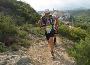 Spain Ultra Cup: Iván Ortiz liderando la CSP115k 2013. Foto: Penyagolosa Trails.
