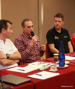 Michel Poletti en la presentación de Spain Ultra Cup