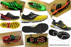 Zapatillas trail Adidas 2013 Catálogo completo por Mayayo