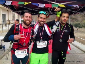 GR10-Xtrem 2014: Podio masculino.