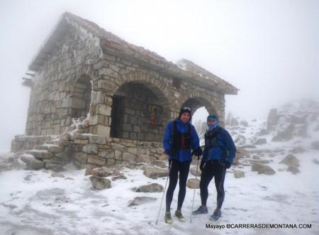 Sural a prueba en condiciones invernales -10ºC. Ref. La Salamanca, Guadarrama.