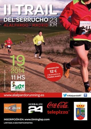 Trail Serrucho 2014 cartel