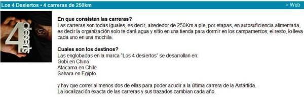 Ultra trail 4deserts 2014 chema martinez