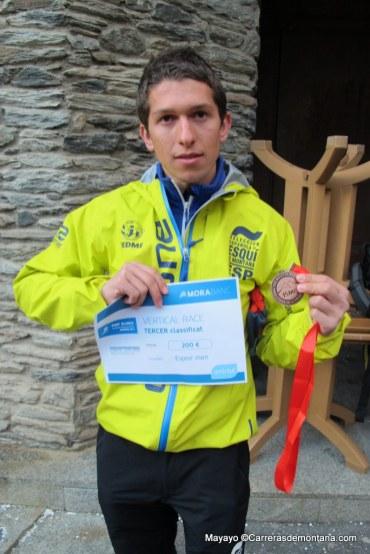 esqui de montaña Skimo Europeo Andorra 2014 vertical race (58)