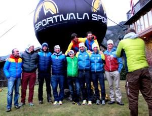 Buenos ratos con equipo La Sportiva Europa en Andorra