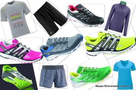 Citytrail gama zapatillas y ropa 2014