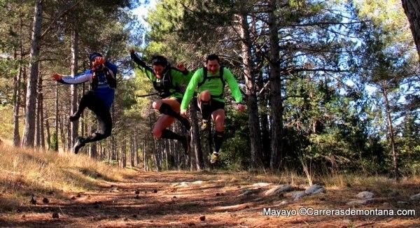 Entrenamiento trail: Algunos training camps están enfocados al disfrute y mejora del popular.
