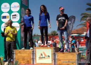 Leire Aguirrezabala campeona Transgrancanaria 2014 86k foto Kataverno
