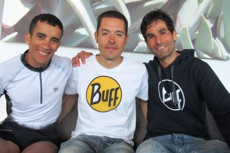 Zaid Ait Malek, Pau Bartolo y Gerard Morales. Foto: mayayo.