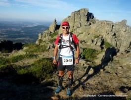 Gran trail Peñalara 2014: Descenso de Maliciosa a La Pedriza, cuerda del Hilo.
