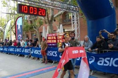 Pau Bartolo campeon Ultra Trail Barcelona 2014. Foto: UTBCN
