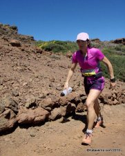 adidas trail uxue fraile tercera en transvulcania