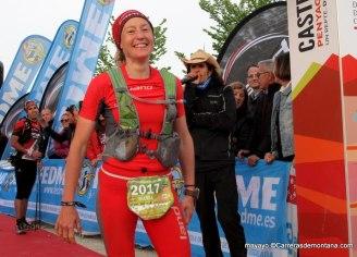 Silvia Trigueros, líder Spain Ultra Cup.