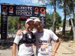 Pablo Criado y Chelis Valle, campeones por equipos del 2013.