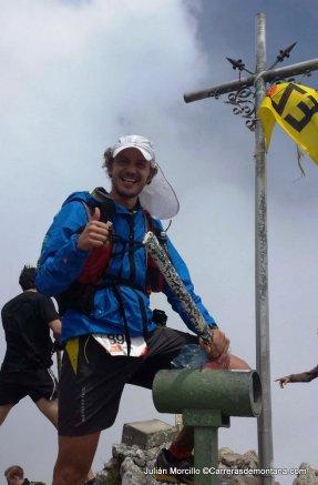 Hiru Haundiak 2014: En la cima de Aizkorri.