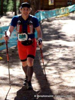 Transgrancanaria 82k 2014: Paso por Garañón tras 7h de carrera.