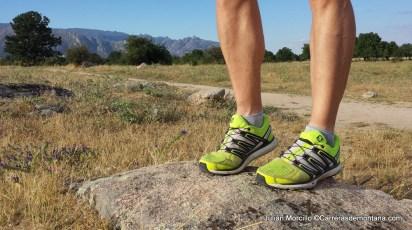 Zapatillas Salomon X-Scream: 300k de pruebas por cañadas y senderos del Guadarrama.