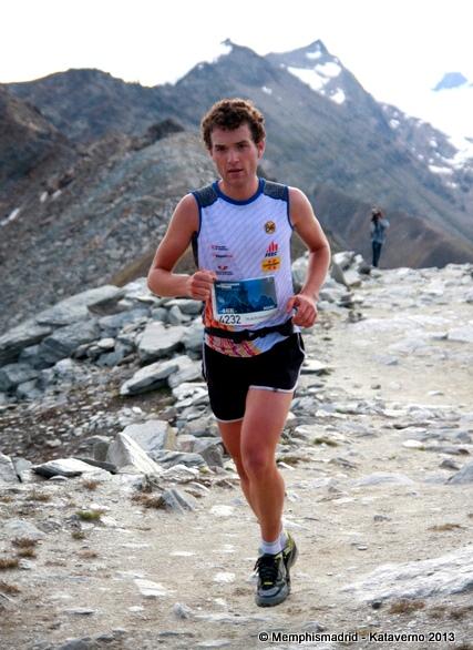 Marc Pinsach en Matterhorn Ultraks 2013