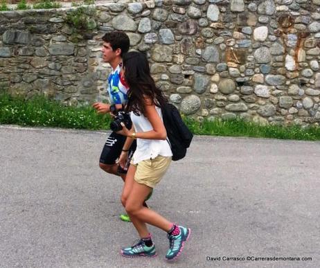 Nuria Queralt 2014: Pau Capell en primeros compases de carrera.