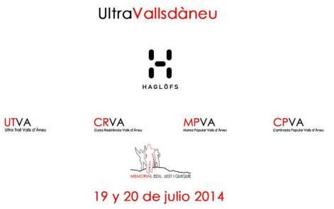 Ultra Trail Valls d Aneu 2014 logo