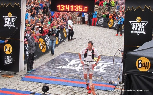 Buff Epic trail 2014: campeón Iker Karrer, del Salomon Running en 13h41m