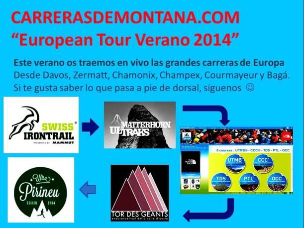 Carrerasdemontana.com European Tour Verano 2014